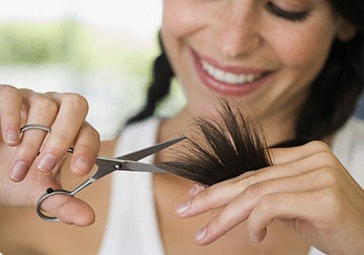 Подстригать кончики во время беременности